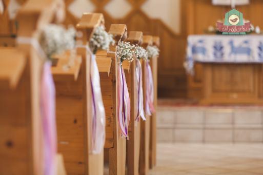 Templomi padsordísz