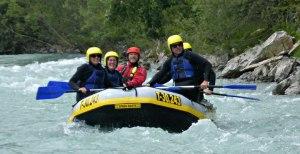 Raftingtour privat auf dem Lech in Tirol