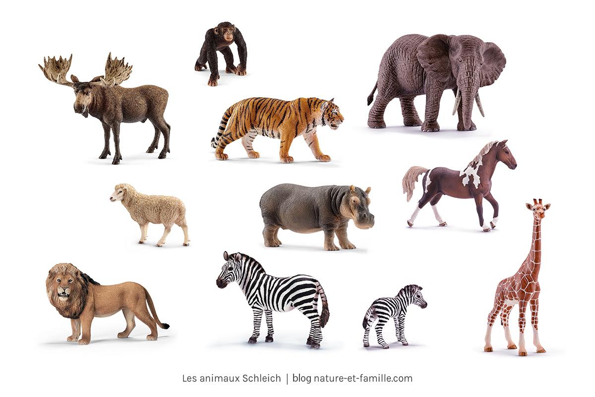 jouet Montessori animaux schleich nature-et-famille.com