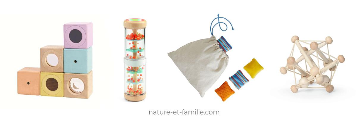 jouet sensoriel Montessori nature-et-famille