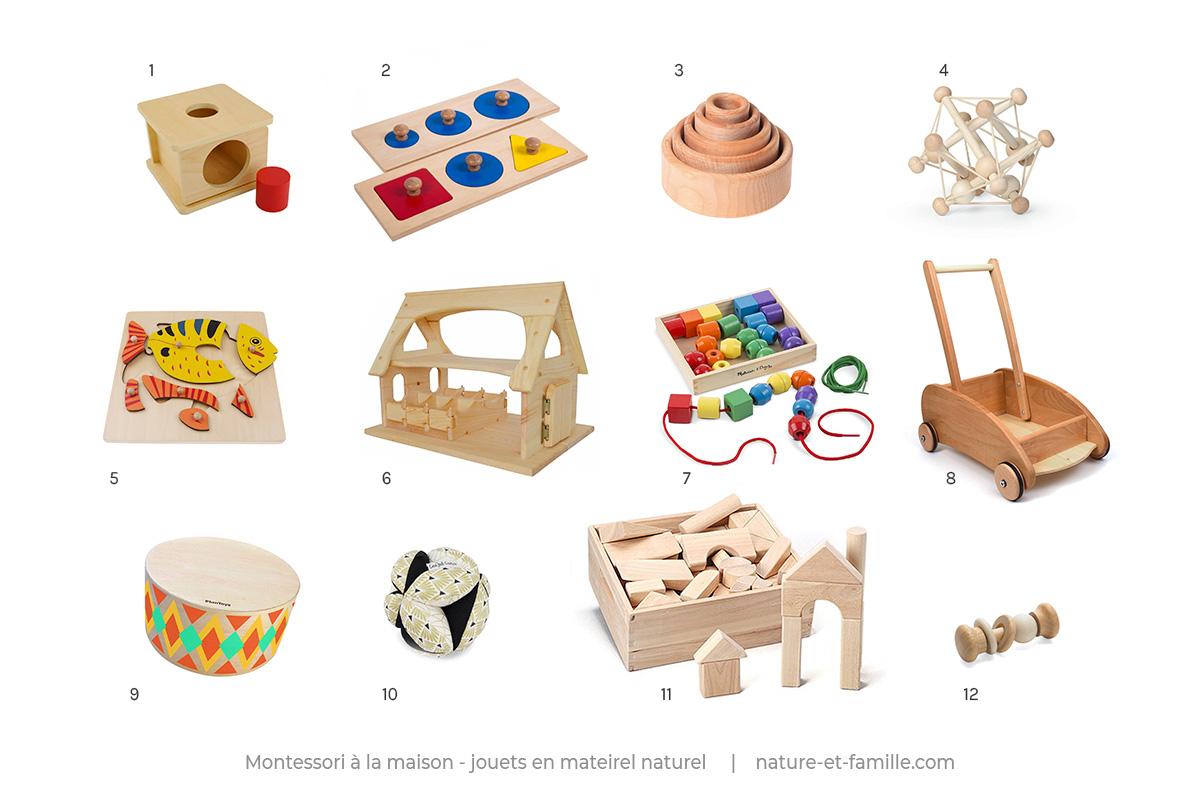 jouets montessori materiel naturel