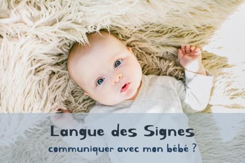 Langue des signes : communiquer avec mon bébé