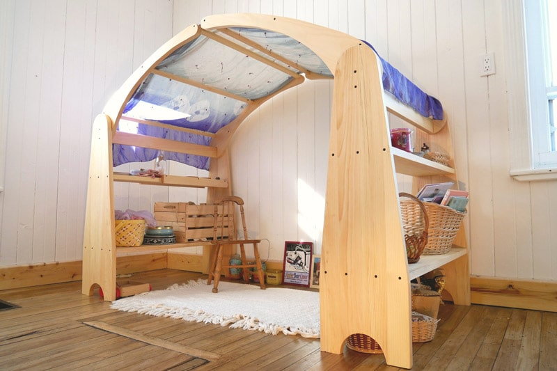 Play stand Waldorf nature-et-famille