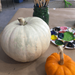 What paint works best for Pumpkin Painting