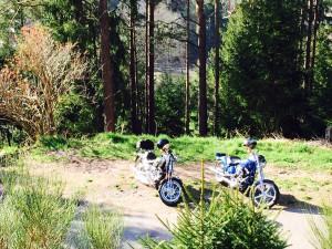 unsere Waldmopeds