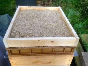 Isolation de la ruche pour l'hiver