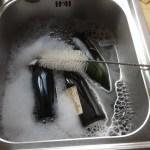 Nettoyage des bouteilles