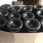 Séchage des bouteilles