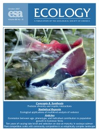 Conservation Letters Journal Cover