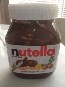 Nutella has made traveling easier for the girls.