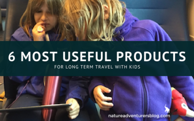 Round the World Adventure with Kids: Our 6 Most Useful Travel Products