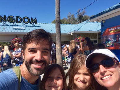 A great day of family fun at Six Flags Discovery Kingdom!