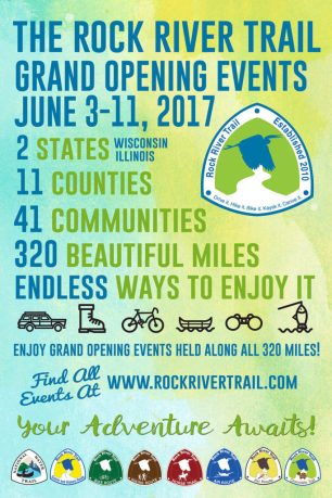 Rock River Trail Grand Opening Paddle Trip – Rock River Fur Traders Run @ Nature At The Confluence