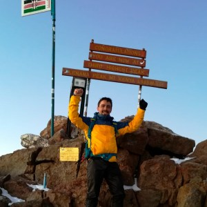 Mount Kenya Sirimon Naro Moru Route