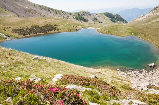 Lacs des Millefonts - Lac Petit