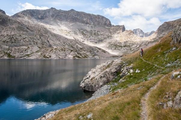 Lac de l'Agnel - Chemin