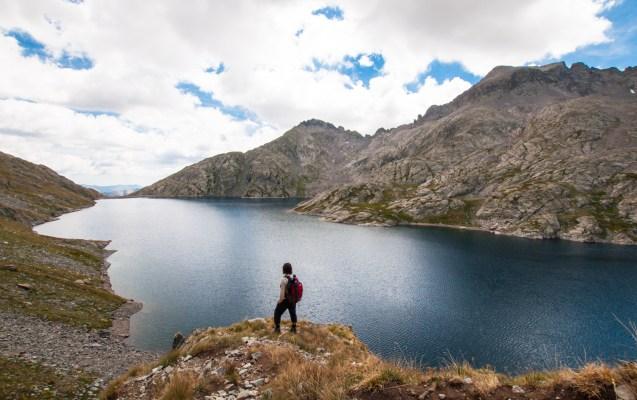 Lac de l'Agnel - Vue