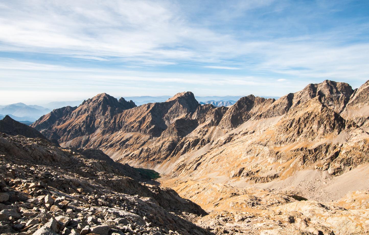 Montée au mont Clapier