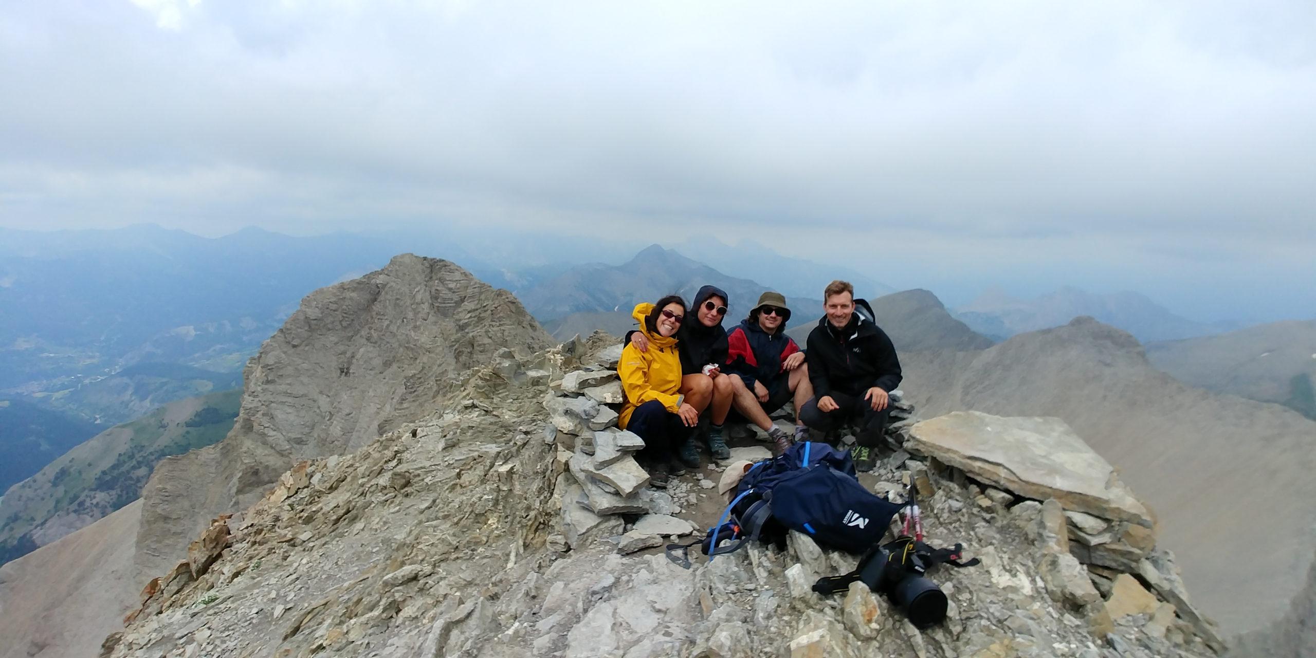 Mont Pelat - sommet