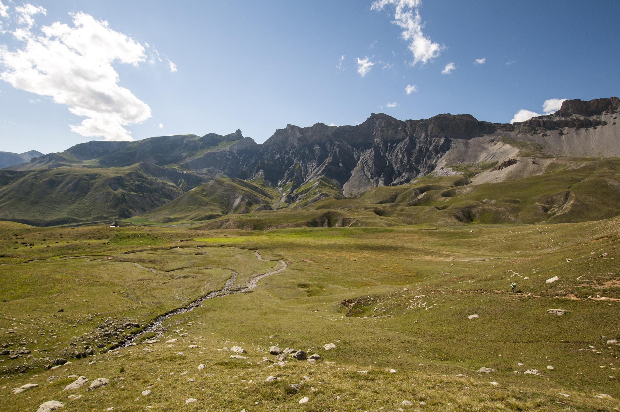 Vue sur le vallon Salso Moreno