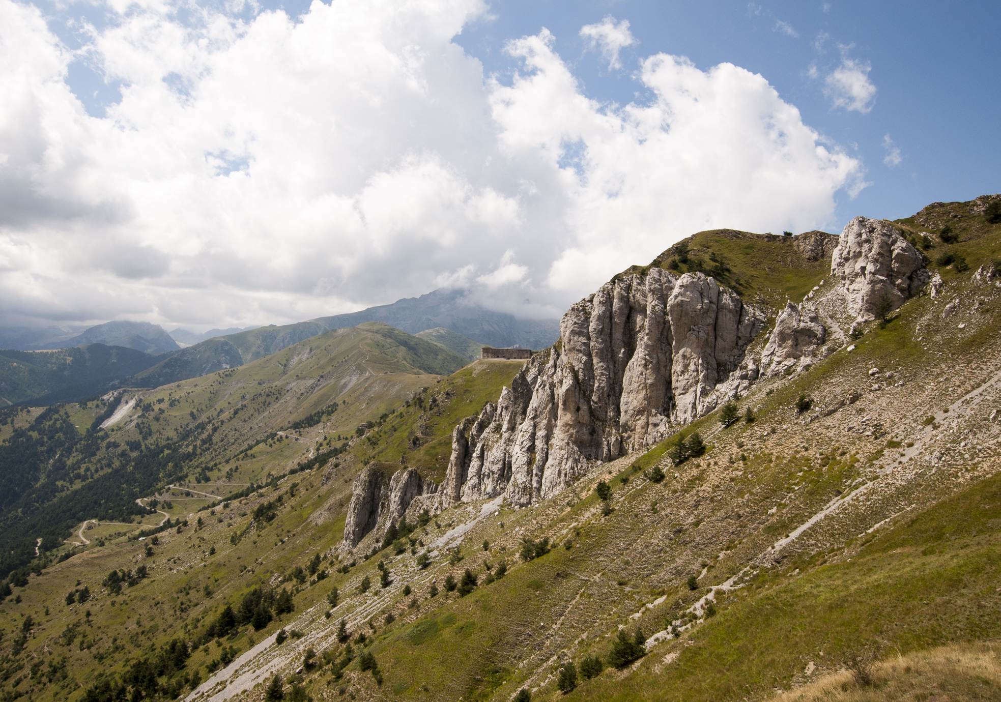 Randonnée - Les Forts du Col de Tende
