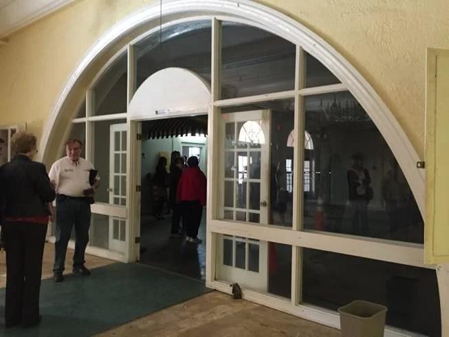 hacienda arch
