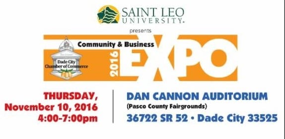 Dade City Community & Business Expo Nov. 10 from 4-7 pm