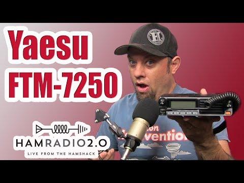 Yaesu FTM-7250DR System Fusion Mobile Radio Review