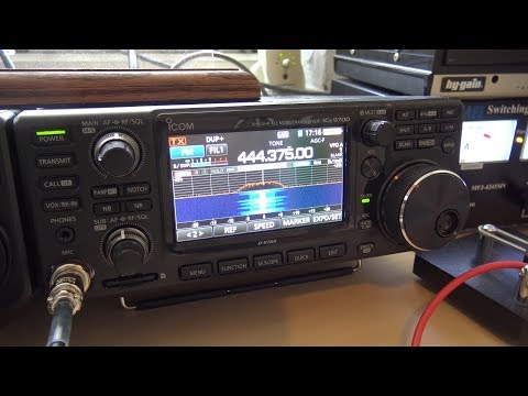 Icom IC-9700 Remote Operation, RS-BA1 Software