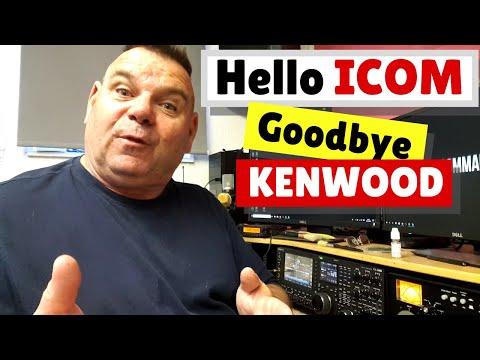Goodbye Kenwood - Hello Icom