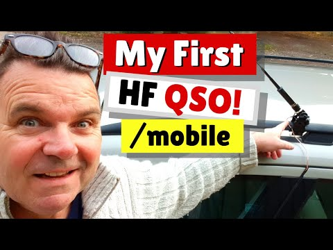 My first EVER 40m Mobile Ham Radio QSO M0MCX/M