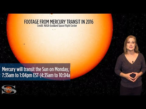 Solar Cycle 25 Stirs & Mercury Crosses the Sun | Space Weather News 11.07.2019