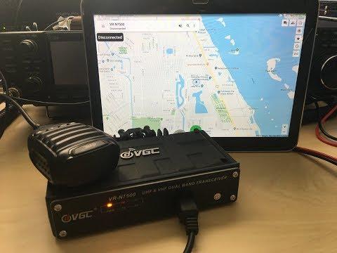 NEW! VHF/UHF Bluetooth Ham Radio, VGC VR-N7500, APP Programmable