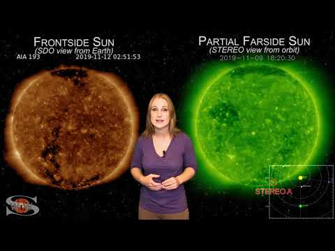 Space Weather for TMRO Space News 11-13-2019