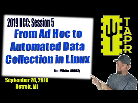From Ad Hoc to Automated Data Collection in Linux   TAPR DCC