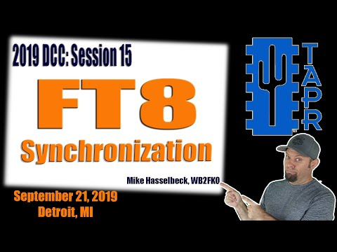 Synchronization in FT8 for Amateur Radio
