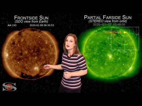 Satellites Charge as Fast Solar Wind Approaches | Space Weather News 01.13.2020