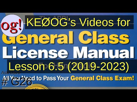 General Lesson 6.5, Digital Operating Procedures (G26)