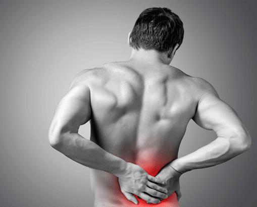 Douleur bas du dos gel de massage