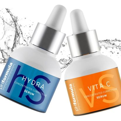 hüaluroonhappeseerum ja c vitamiini seerum phformula
