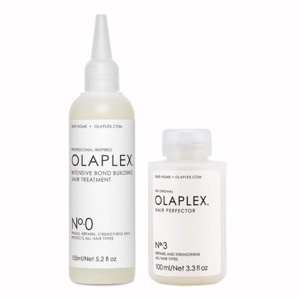 Olaplex nr 0 ja 3 koduhoolduse komplekt kahjustunud juustele