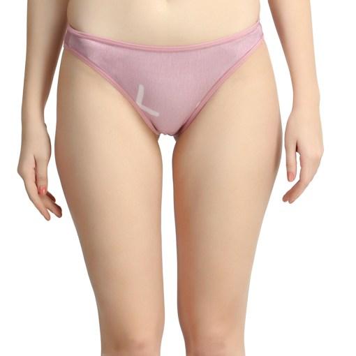 women's bamboo underwear pink