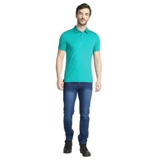 Bamboo clothing Sustainable Tortoise Polo T shirt 2
