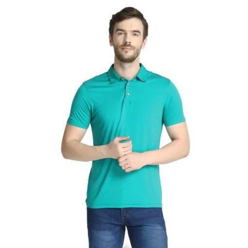 Bamboo clothing Sustainable Tortoise Polo T shirt 3