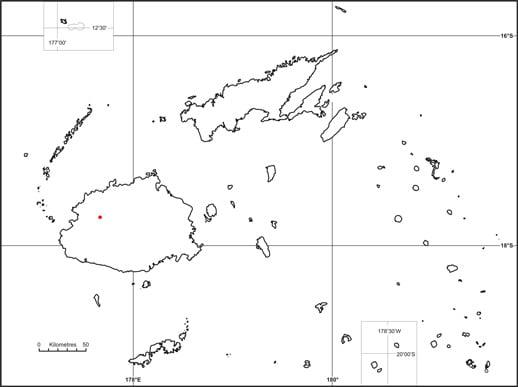 Yaka (Dacrydium nausoriense) map