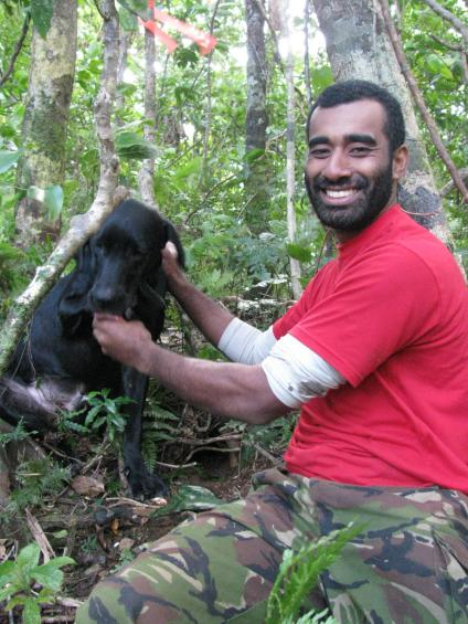 Eli O'Connor – Fiji Petrel Project Manager moves on