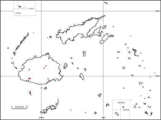 Emoia parkeri map