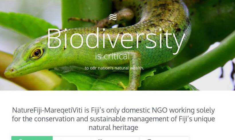 NatureFiji-MareqetiViti launches new Mobile Responsive Website