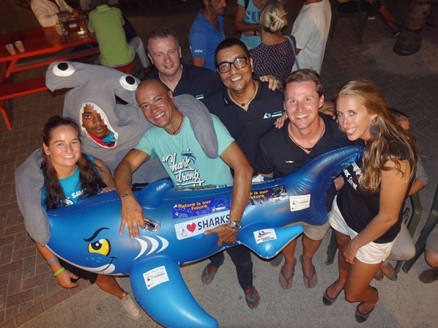 shark week crew with Jorgen Raymann