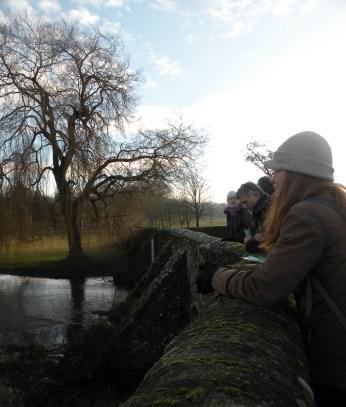 By the river Stour at Goddington